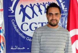 كاتب عام النقابة مصطفى النهدي